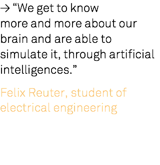 "≥ ""We get to know 