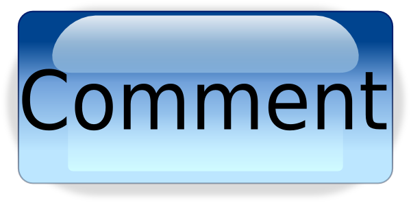an old-school button that reads 'comment'
